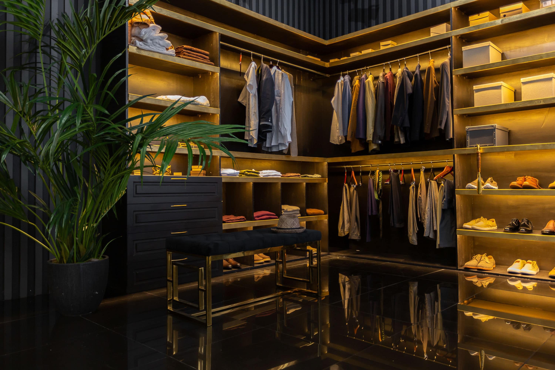 moderne design kledingkast